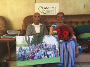 longest married couple with family photo 2016